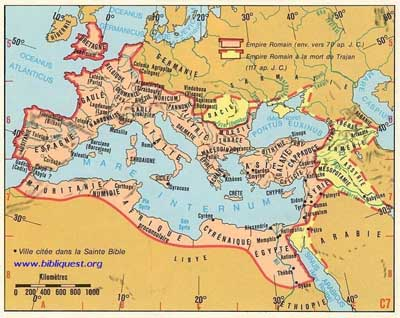 Empire et vestiges de la Rome Antique (Italie)