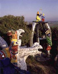 Le Jardin Des Tarots De Niki De Saint Phalle Italie